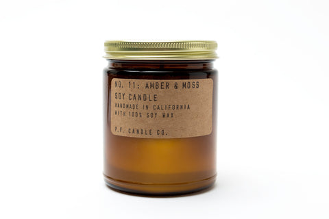 Amber and Moss Candle - 7.2 oz