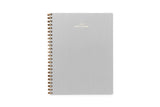 2019/2020 Weekly Notebook Planner - (Dove Gray)