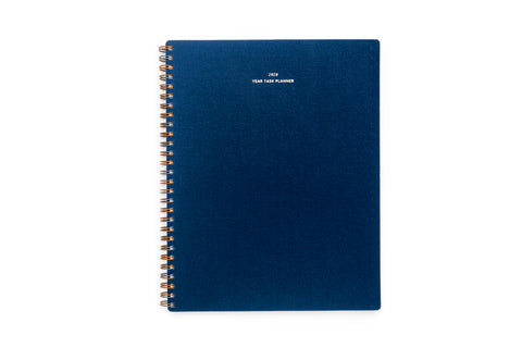 2020 Year Task Planner - (Oxford Blue)