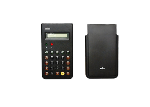 Braun Calculator Black