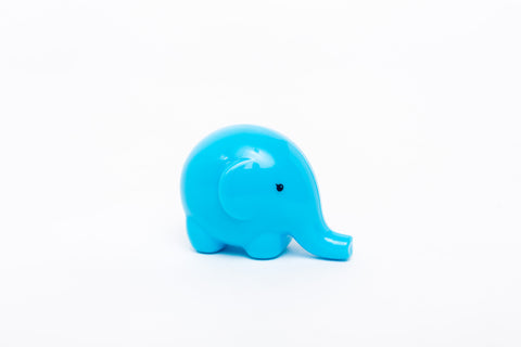 elephant sharpener - blue