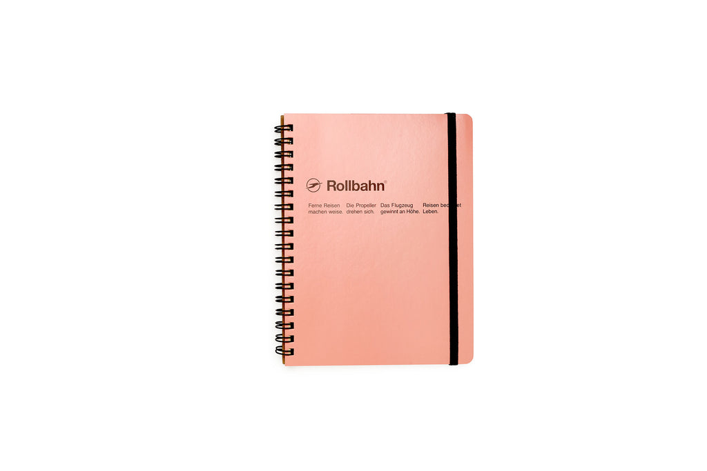 Rollbahn Spiral Notebook: Blush Pink