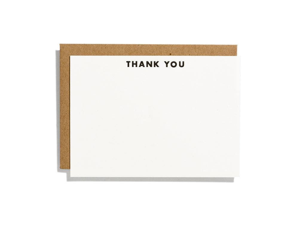Futura Thank You Flat Note Box Set