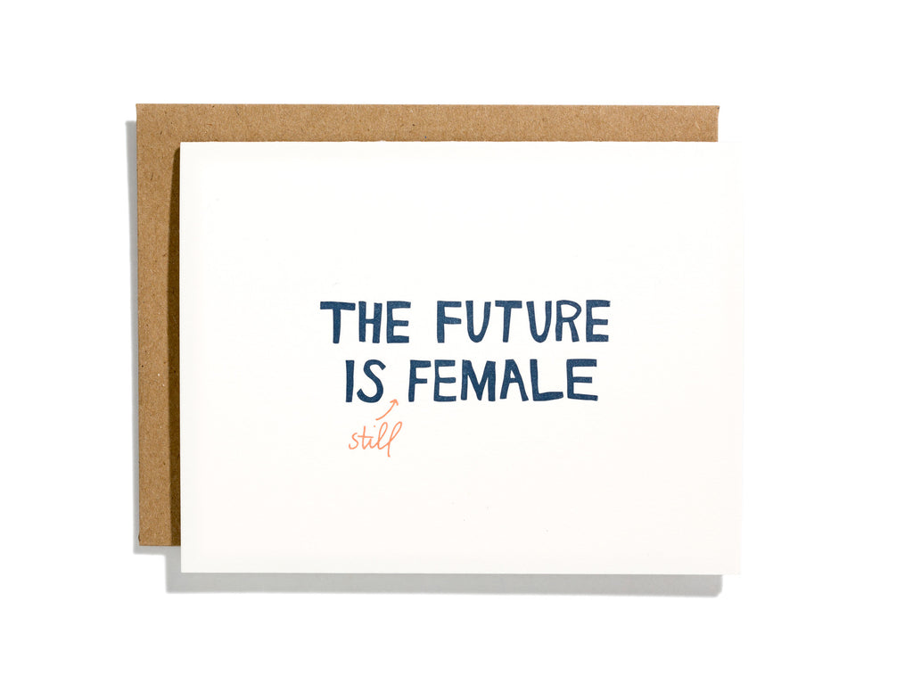 THE FUTURE IS (STILL) FEMALE CARD BUNDLE