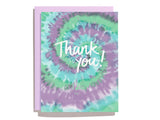 Tie Dye Thank You