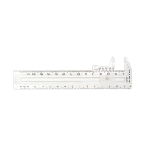 Midori Thickness Ruler: Clear