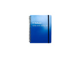 Rollbahn Spiral Notebook: Blue