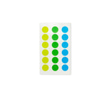 Stalogy Masking Tape Sticker Patches (16MM) - Yellow/Green/Blue