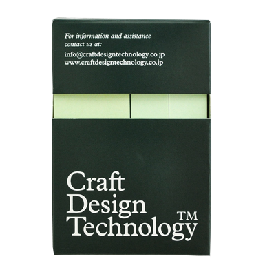 Pale Green Adhesive Notes (Pack of 3) - Craft Design Technology