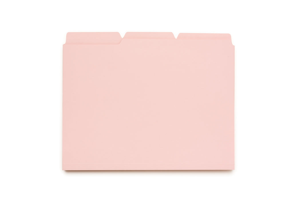 File Folders - Pink Lemonade