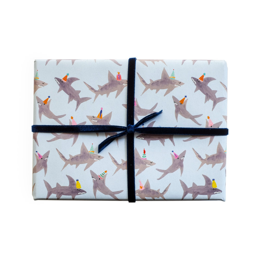 A School of Sharks Gift Wrap