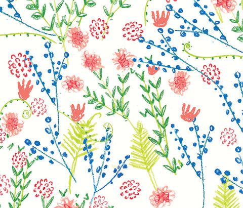 Countryside Wildflowers Gift Wrap
