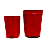 Large Waste Basket - Red