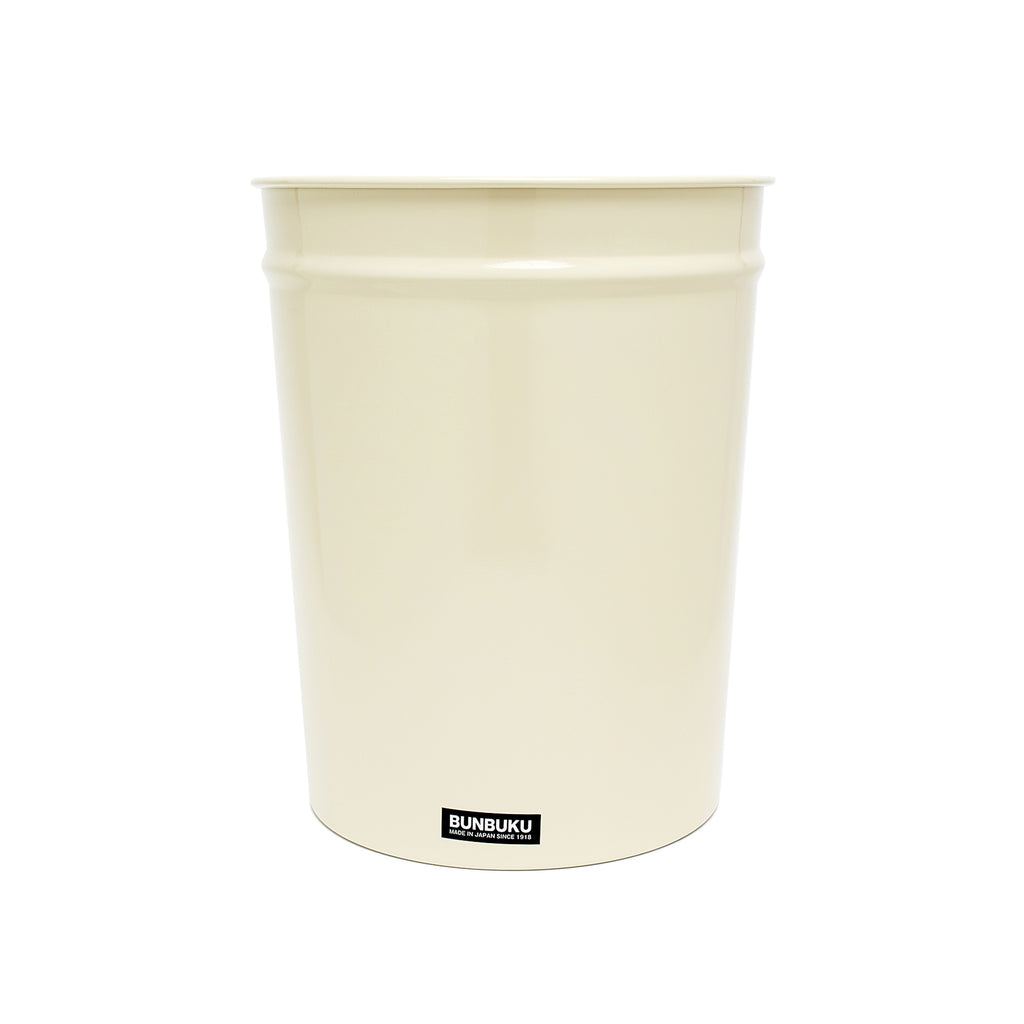 Small Waste Basket - Ivory