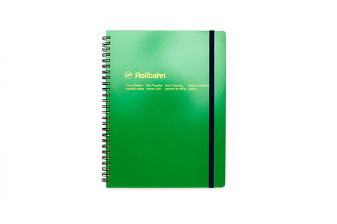 Rollbahn Spiral Notebook: Green (Extra Large)