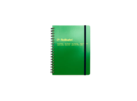 Rollbahn Spiral Notebook: Green