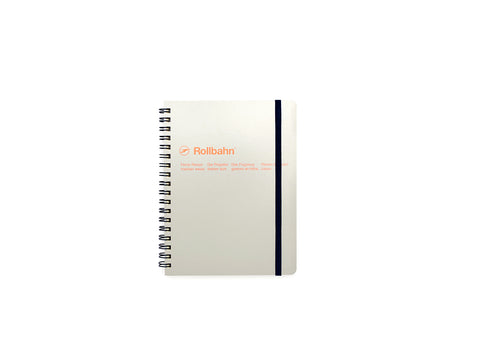 Rollbahn Spiral Notebook: Ash Grey