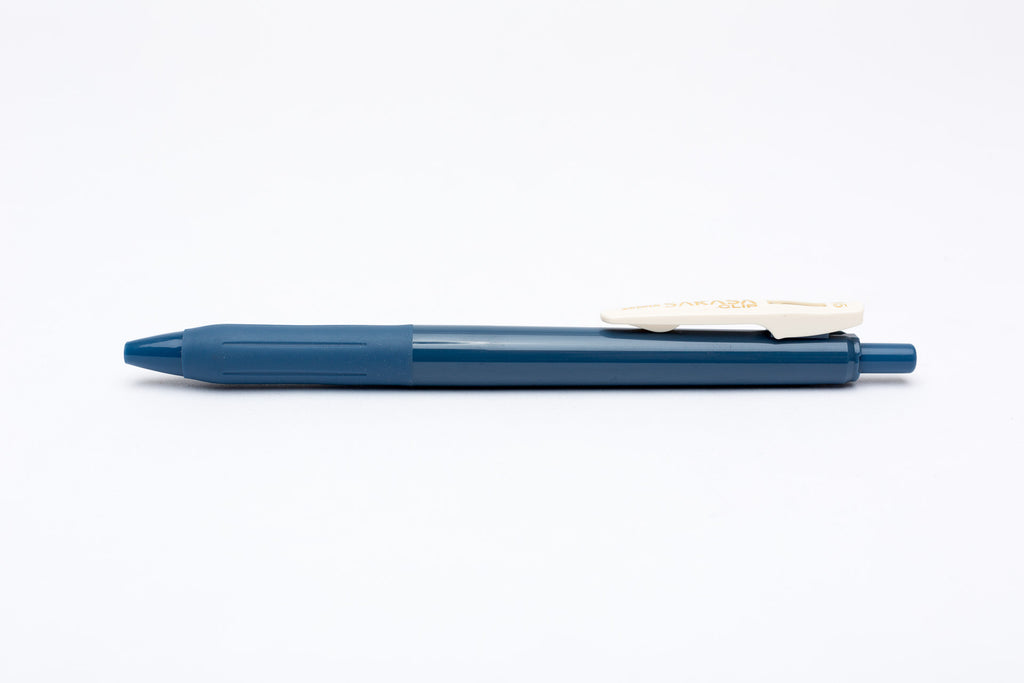 Zebra Sarasa Push Clip Gel Pen - Vintage Blue Grey