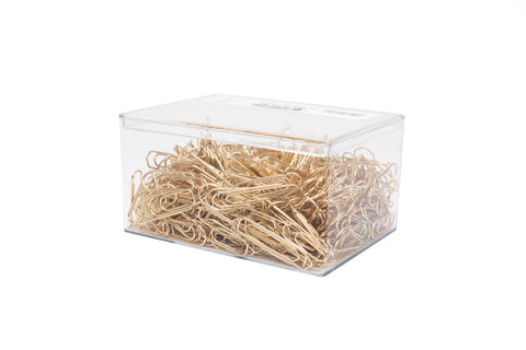 Leone Dell'Era Brass Plated Paper Clips - Bulk