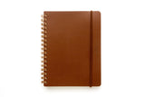 Grain Notebook B6: Dark Brown