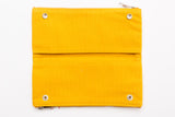 Delfonics Double Fastener Pen Case - YELLOW