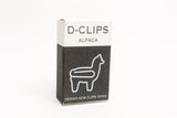D-Clips Paperclips Mini Box Alpaca
