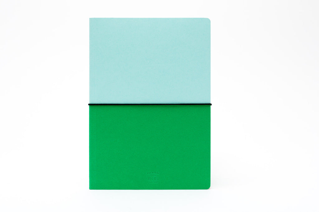 HiBi A5 Notebook: Green