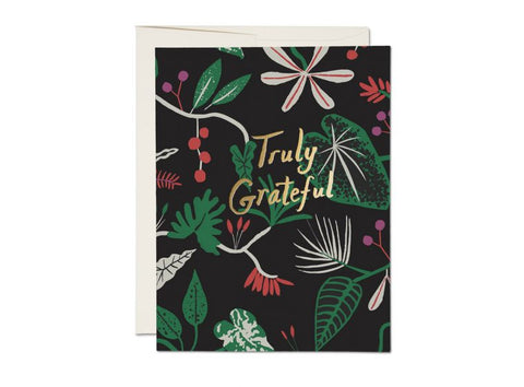 Grateful Foliage card