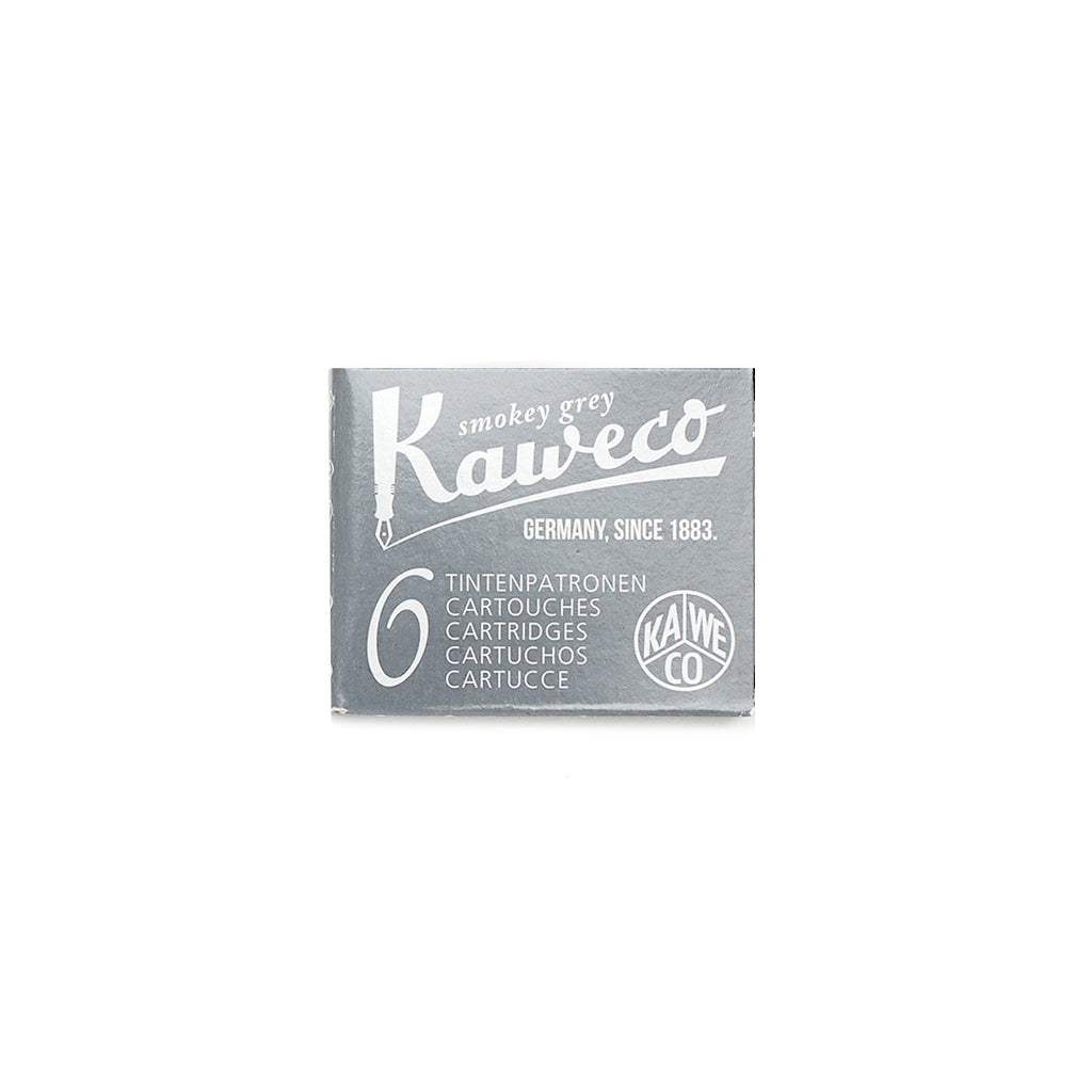Kaweco Smokey Grey Fountain Ink Cartridges