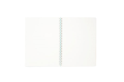 Kokuyo Soft Ring Notebook 6mm Dotted Line - B5 80 Sheets - Light Blue