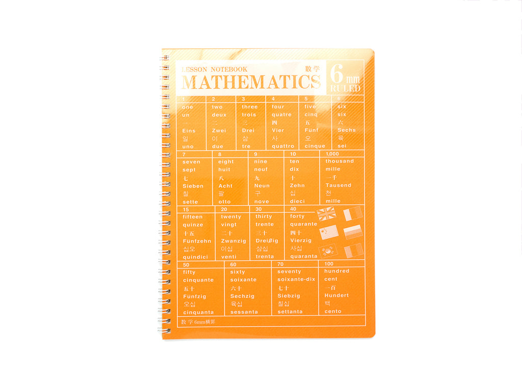 Mathematics Lesson Notebook