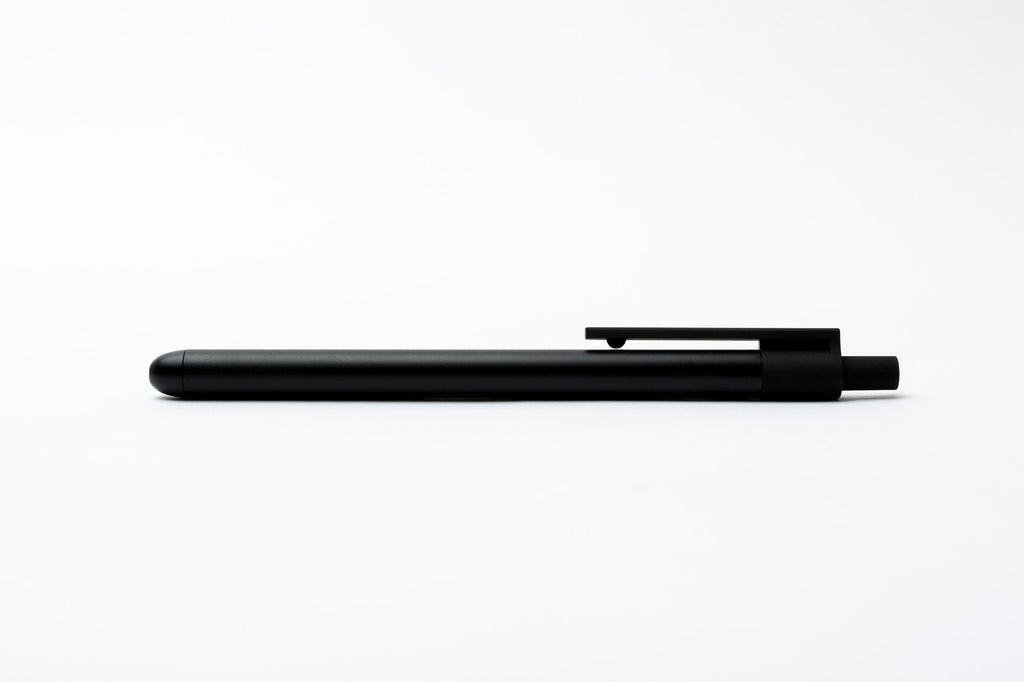 Convex Metal Pen All Black