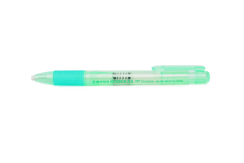 Tombow Mono Knock Eraser 3.8: Green