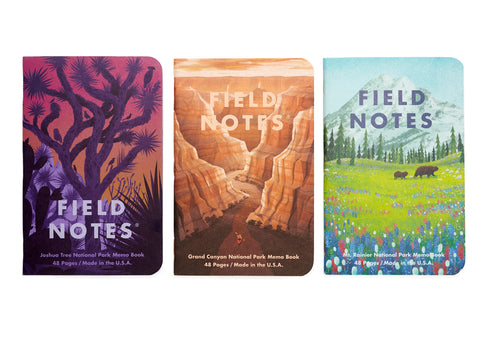 Field Notes Limited Edition Notebooks - National Parks B-Pack