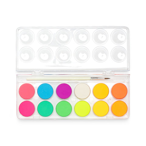 Chroma Blends Watercolor Paint Set - Neon