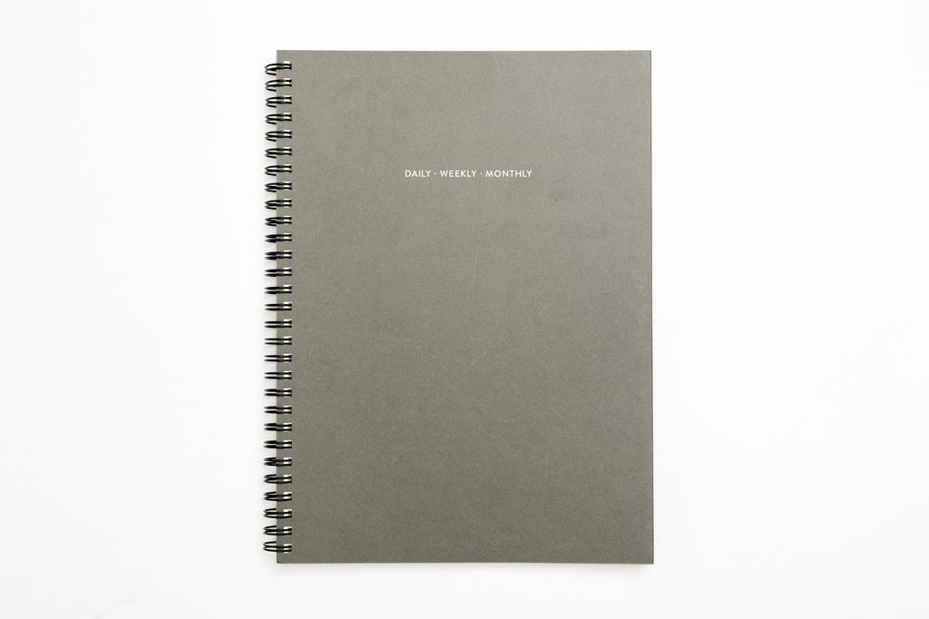 D / W / M Planner - Charcoal