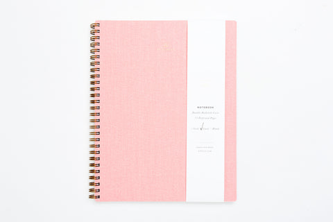 Notebook - Blossom Pink (lined)