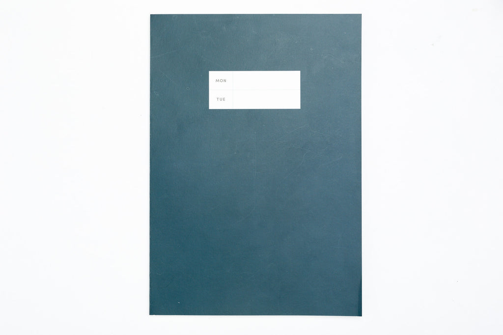 Color Pop Large Planner - Weekly (Dark Blue)