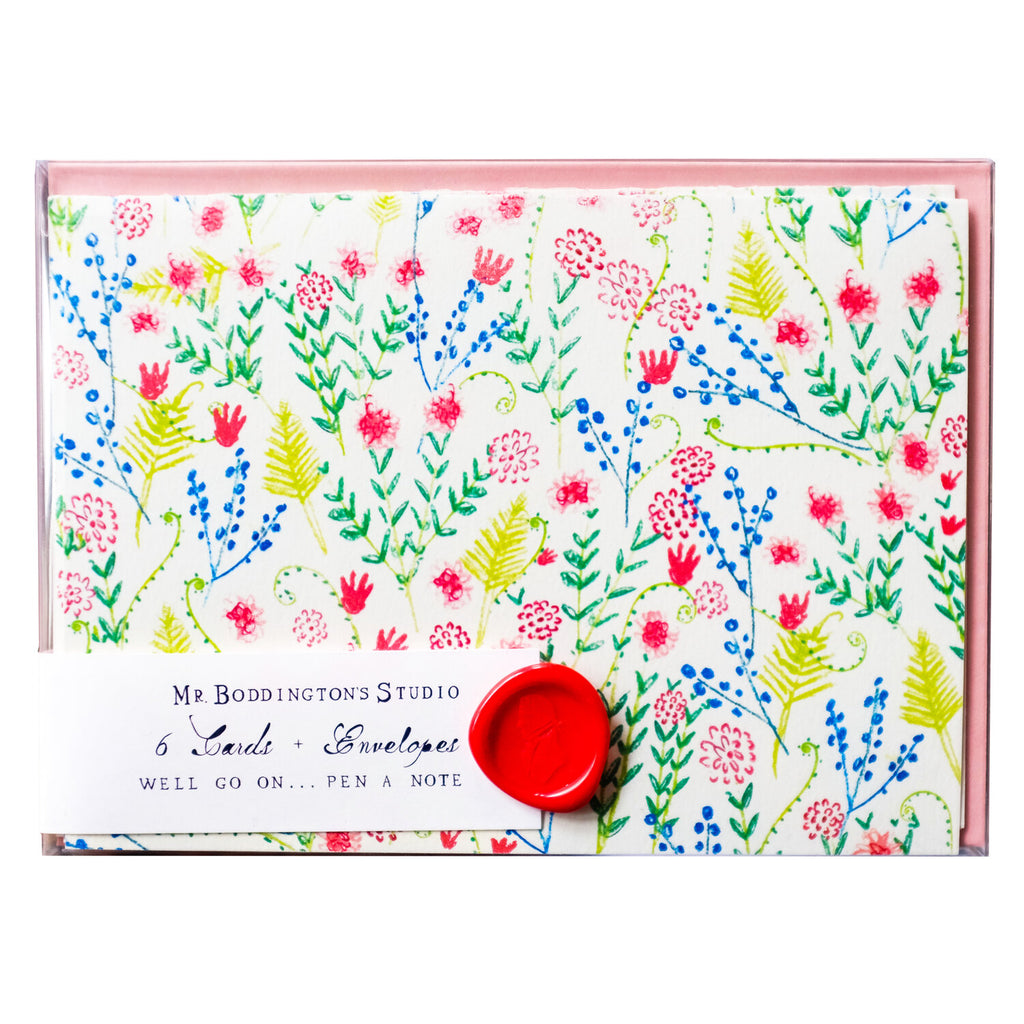 Countryside Wildflowers Boxed Notecards - Set of 6