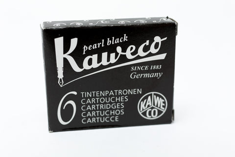 Kaweco Pearl Black Fountain Ink Cartridges