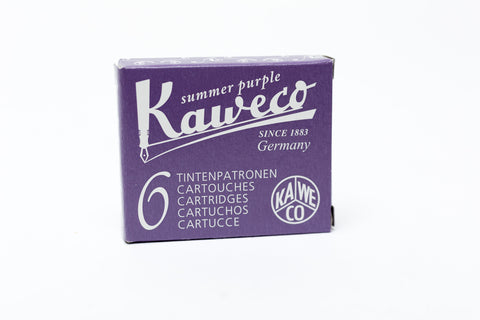 Kaweco Summer Purple Fountain Ink Cartridges