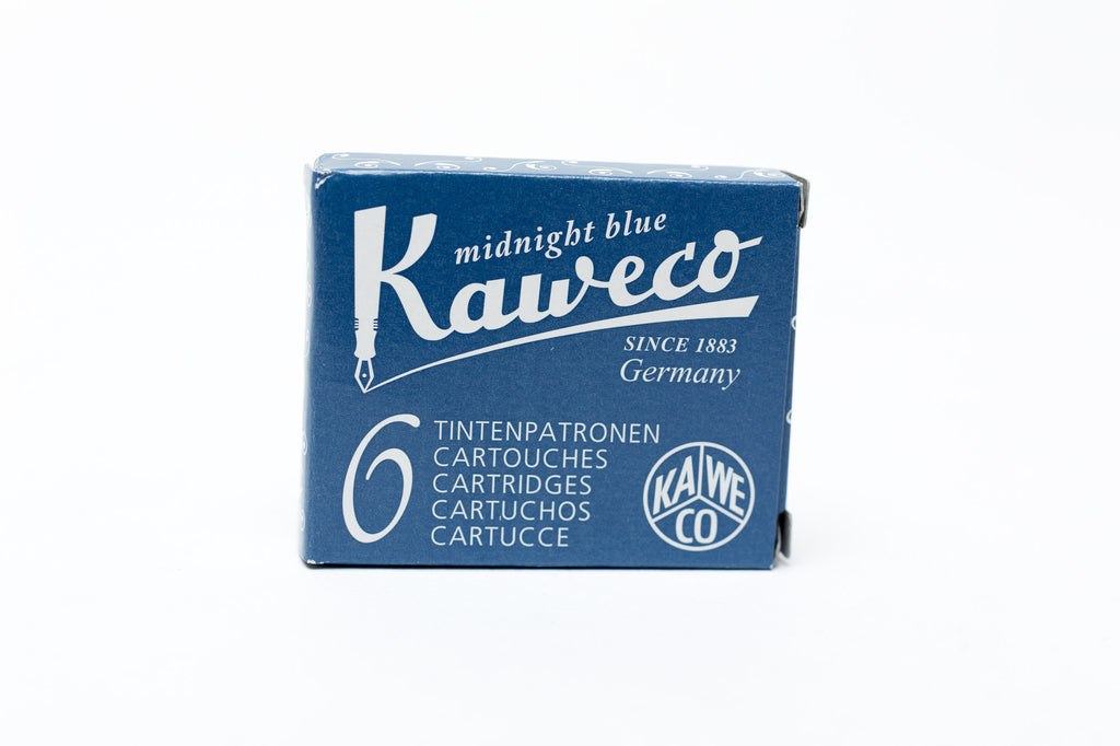 Kaweco Midnight Blue Fountain Ink Cartridges