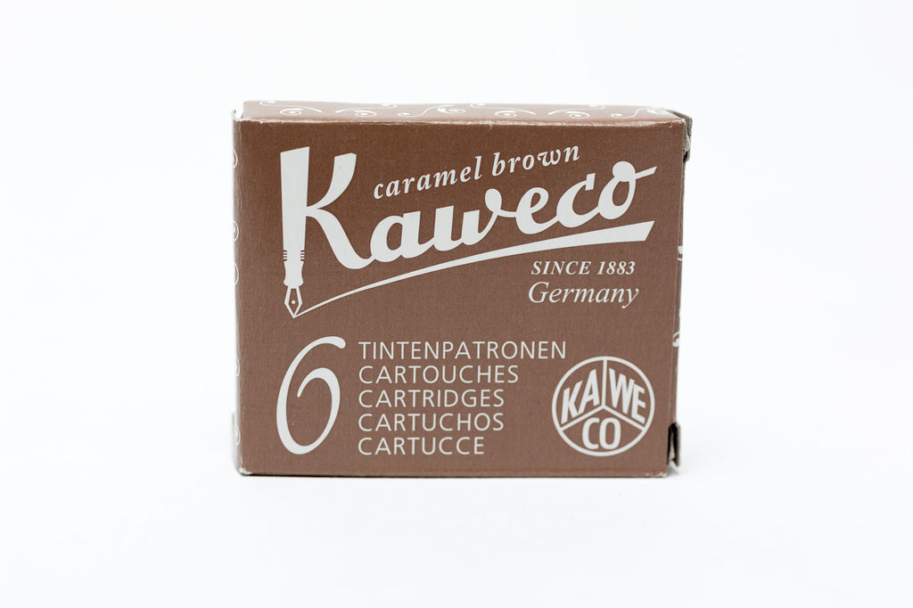 Kaweco Caramel Brown Fountain Ink Cartridges