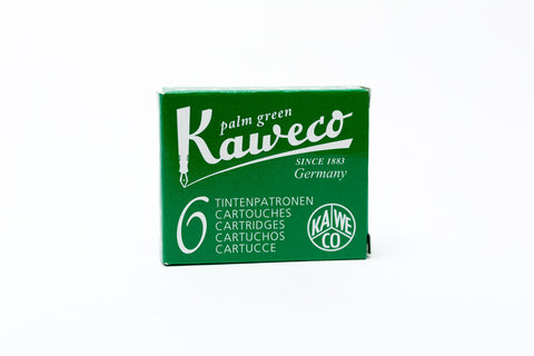 Kaweco Palm Green Fountain Ink Cartridges