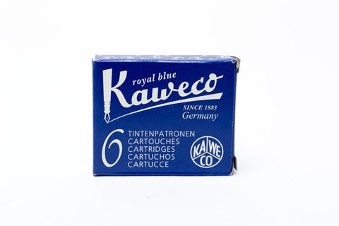 Kaweco Royal Blue Fountain Ink Cartridges