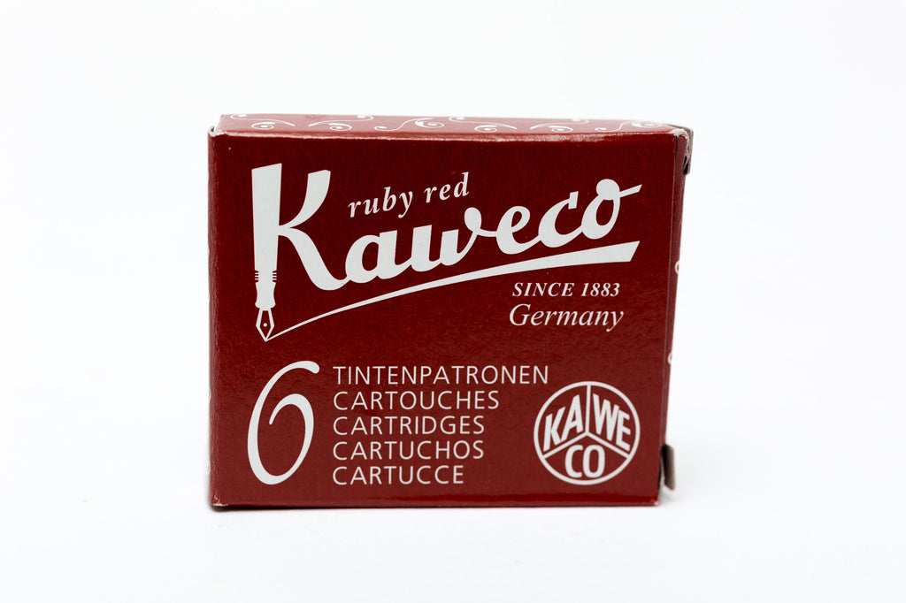 Kaweco Ruby Red Fountain Ink Cartridges