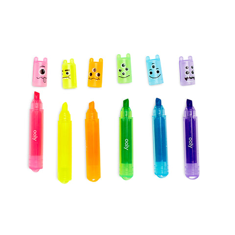 Mini Monster Scented Neon Markers