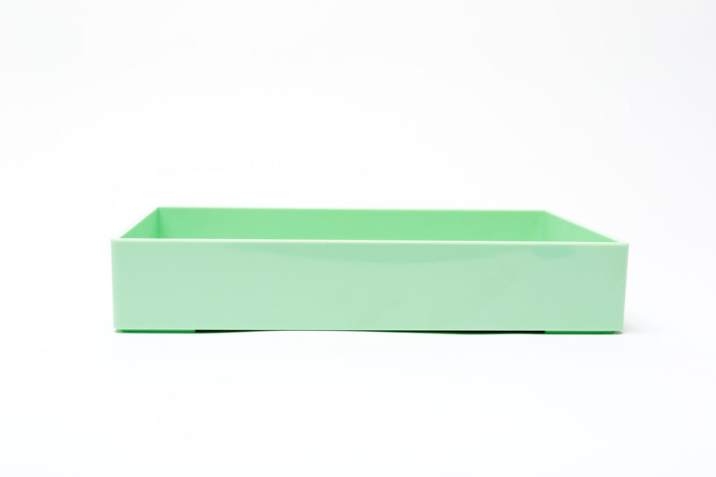 Poppin Small Accessory Tray: Mint