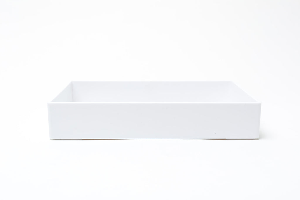Medium Accessory Tray: White