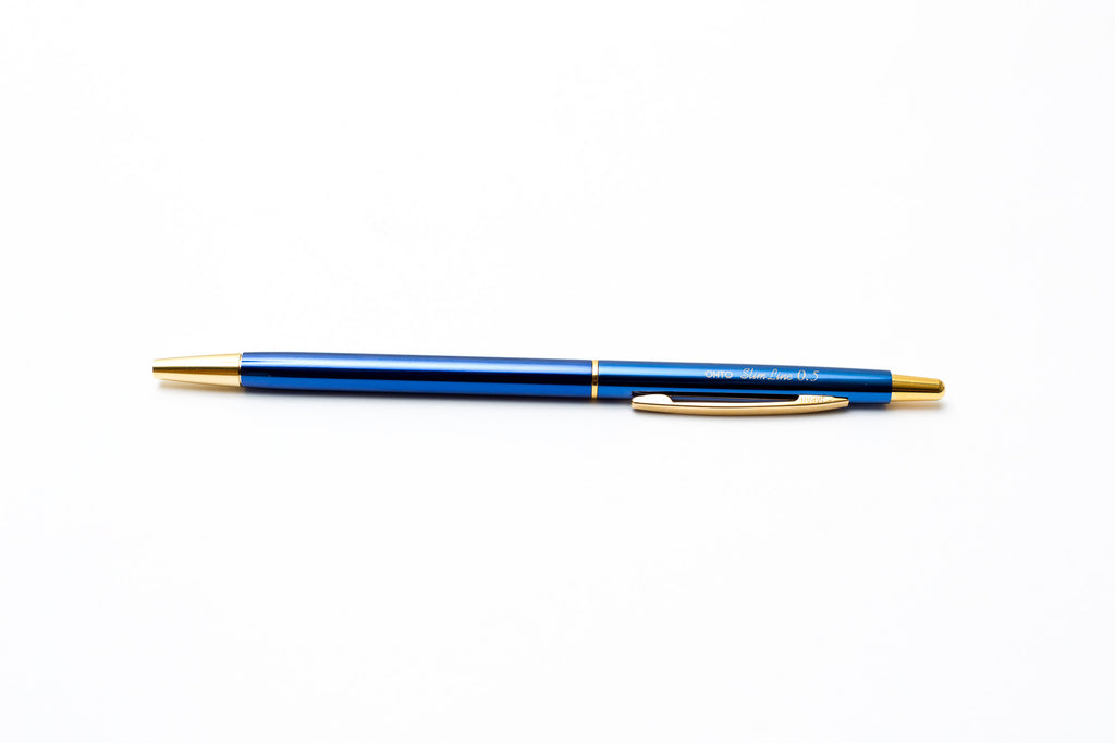 Ohto Slim Line Blue pen